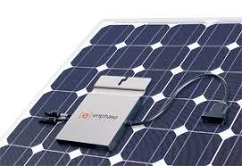 Onduleur sur panneau solaire