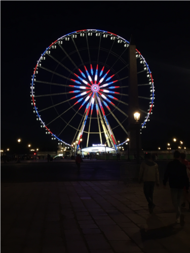 Paris masque d'or grande roue 2018